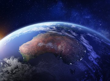 Which Two Continents Are Located Entirely in the Southern Hemisphere?