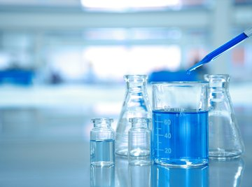 The Types of Bottles Used for Storing Acids & Bases