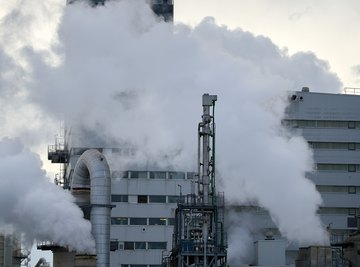 Devices Used to Remove Pollutants From Smoke Stacks