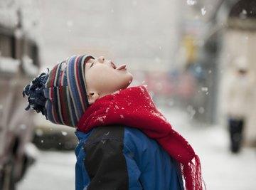 Snow isn't the safest snack, but it isn't always dangerous.