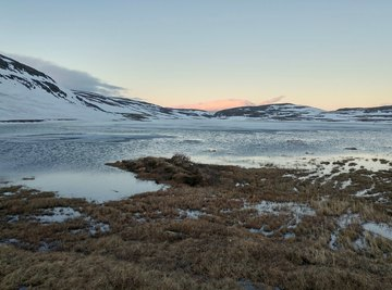 The Canadian arctic is warming even faster than expected.