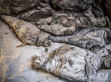 Scientists have uncovered an ancient tomb full of mummies.