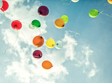 Does a Balloon with Helium Rise Higher Than One with Oxygen