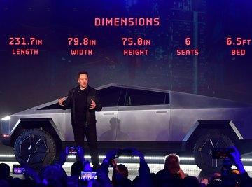 Tesla's new Cybertruck debuted last week.