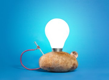 Potato Light Bulb Experiment for Kids