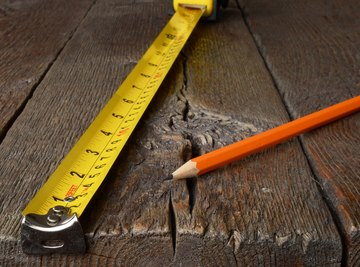 How to Calculate Height, Width & Square Feet