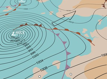 Five Different Types of Weather Maps