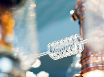 Three Examples of Simple Distillation Mixtures