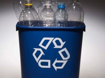 The vast majority of plastic consumer drink bottles are PET.