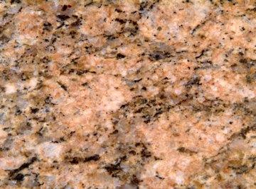 Feldspar is found in granite.