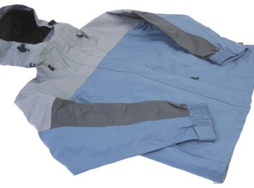 Jackets made of nylon offer exceptional water resistance.