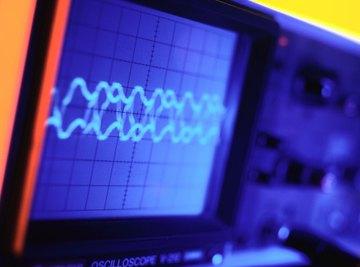Oscilloscopes convert electrical signals into a periodic graph.