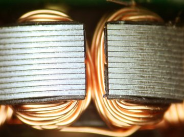Electrical currents can make a magnetic field.