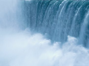 Waterfalls could not exist without gravity.