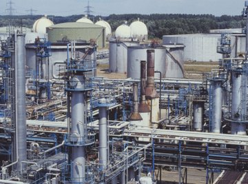 Hydrocarbon gas is a feedstock for petrochemical manufacture.
