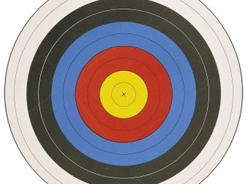 A circle's center keeps its standard form on target.