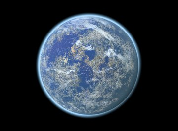 Earth has the unique atmospheric conditions and temperature to sustain life.