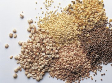 The unit grain originally measured the weight of literal grains.