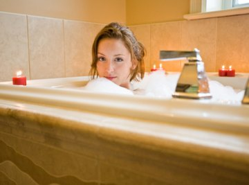 A hot bath requires a large energy transfer.