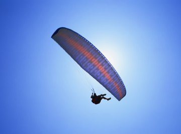 A sport parachute is one of many specialized types.