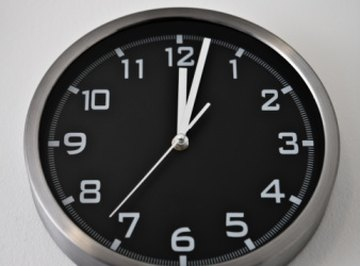 If you're used to standard time, decimal time conversions take practice.