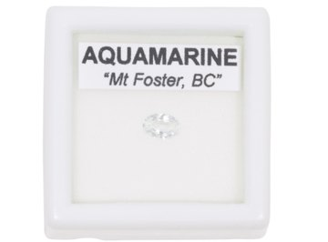 An aquamarine's value depends on many factors.