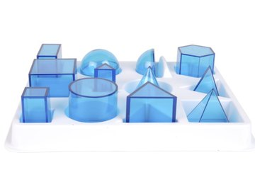 Three-dimensional prisms, including hexagonal prisms, come in all different shapes and sizes.