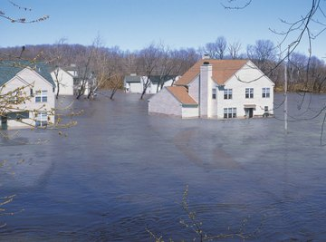 Floods wreak havoc on land and businesses, causing erosion, crop failure and billions of dollars in damage.