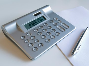 A calculator may make it quicker to determine the percentage of change.