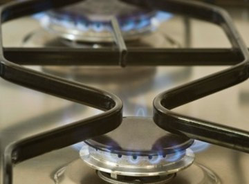 Some stoves run on natural gas.