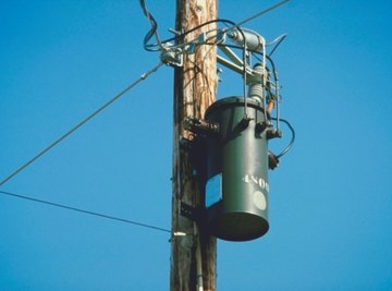 Transformers are sized to support the electrical load.