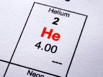 Helium has a much lower boiling point than water.