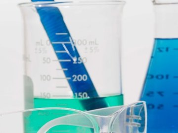 Liquids have their own densities, which can identify them.