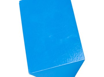 Prisms can be triangular, rectangular, square or several other shapes.