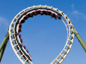 Computer technology is used to help design safe, yet exciting roller coasters.