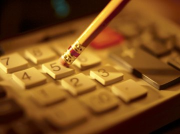 A calculator can help convert from decimals to a percentage.