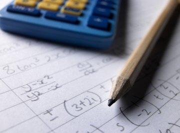 Algebra problems take more steps as you progress into Algebra 2.