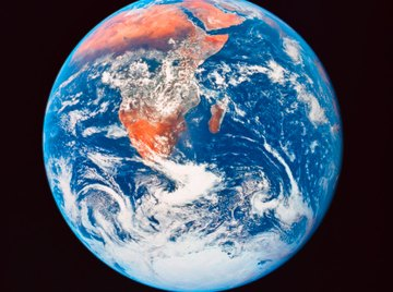 Earth rotates on its axis once every 24 hours in addition to revolving around the sun once every 365 days.