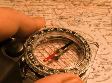 A compass is a delicate instrument, but a demagnetized needle is easy to repair.