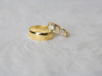 You can melt a gold ring with borax to make a pendant or other accessory.