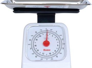 Scales may measure in milligrams but rarely micrograms.