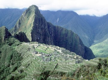 The Peruvian Andes resulted from an oceanic-continental plate boundary collision.