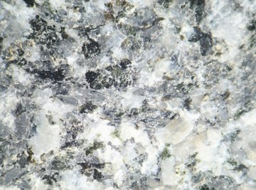 Granite, prized for its beautiful grains, is an example of an intrusive igneous rock with large crystals.