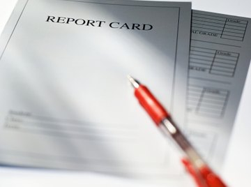 You can determine GPA before you get a report card.