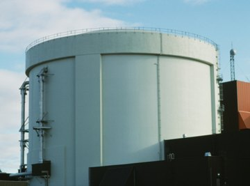 Storage tanks can lose heat quickly to the environment.