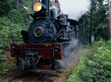 Some trains use vaporization to power huge steam engines.
