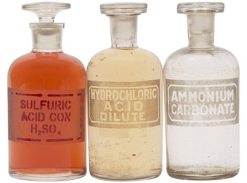 Sulfuric and muriatic acid are different chemical compounds.