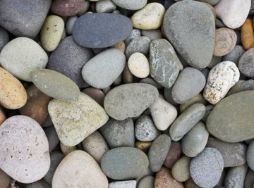 Gravel is available in a variety of colors, textures and sizes.
