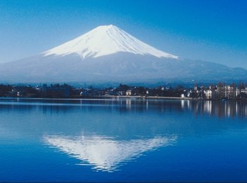 Japan's towering Mount Fuji is an iconic composite volcano.