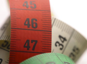 Take sewing measurements for hips, waist and leg length in inches.